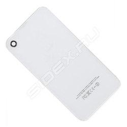 Задняя крышка для Apple iPhone 4 (CD126605) (белый) - Крышка аккумулятораКрышки аккумуляторов<br>Плотно облегает корпус и гарантирует надежную защиту Вашего устройства.