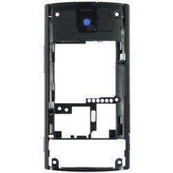 Задняя панель для Nokia X3-00 (нижнего cлайдера в сборе) (CD124842) (черный) - Панель корпусаПанели корпуса<br>Потертости и царапины на корпусе это обычное дело, но вы можете вернуть блеск своему устройству, поменяв корпус на новый.