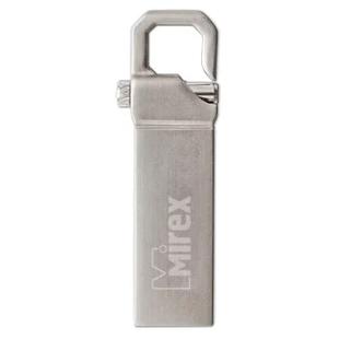 Mirex CRAB 16GB (серебристый) - USB Flash driveUSB Flash drive<br>Флэш-накопитель 16 ГБ, интерфейс USB 2.0, материал корпуса: металл.