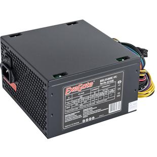 Exegate ATX-400NPXE 400W с кабелем питания с защитой от выдергивания - Блок питанияБлоки питания<br>Блок питания 400NPXE(+PFC), 400 Вт, ATX, SC, black,12cm fan, 24p+4p, 6/8p PCI-E, 3*SATA, 2*IDE, FDD + кабель 220V с защитой от выдергивания