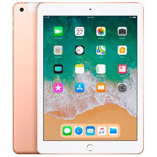 Apple iPad (2018) 32Gb Wi-Fi + Cellular (золотистый) ::: - Планшетный компьютерПланшеты<br>9.7quot;, 2048x1536, iOS, 32Гб, 3G, GPS, 478г.