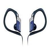 Panasonic RP-HS34 (синий) - НаушникиНаушники и Bluetooth-гарнитуры<br>Panasonic RP-HS34 - наушники-вкладыши, импеданс 23 Ом, чувствительность 112 дБ/мВт, диаметр мембраны 14.3 мм, разъём mini jack 3.5 mm, длина провода 1.2 м, водостойкий корпус