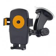 Универсальный автомобильный держатель Perfeo PH-502-2 (черный) - Автомобильный держатель для телефонаАвтомобильные держатели для мобильных телефонов<br>Автодержатель для смартфона до 5quot;, на стекло.