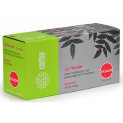 Тонер-картридж для Kyocera FS-C5100DN (Cactus CS-TK540М) (пурпурный) - Картридж для принтера, МФУ