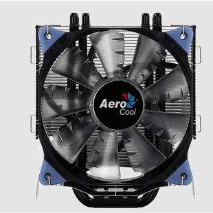 Aerocool Verkho 5 DARK - Кулер, охлаждениеКулеры и системы охлаждения<br>Кулер для процессора, коннектор 4 Pin PWM, 1 вентилятор 120 мм.
