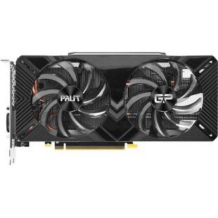 Palit GeForce RTX 2070 1410Mhz PCI-E 3.0 8192Mb 14000Mhz 256 bit DVI HDMI HDCP Gaming Pro OC 8G (NE62070T1AP2-1062A) RTL - ВидеокартаВидеокарты<br>1410 (1710 BoostClock)/14000МГц, 8192Мб, GDDR6, 256 бит, DVI x1, USB Type-C x1, HDMI x1, Display Port x2.