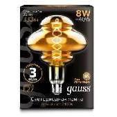 Лампа Gauss Led Vintage Filament Flexible BD160 (162802008) - Лампочка