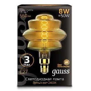 Лампа Gauss Led Vintage Filament Flexible BD180 (161802008) - Лампочка