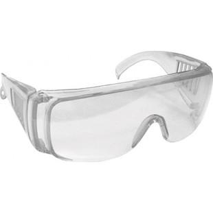 Очки защитные Fit 12219 - СредствоЗащита органов зрения<br>Очки защитные, прозрачные, с дужками, предназначены для защиты глаз от пыли, окалины, краски, стружки