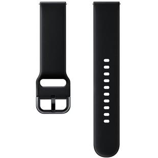 Ремешок для Samsung Galaxy Watch Active (черный) - Ремешок для умных часов