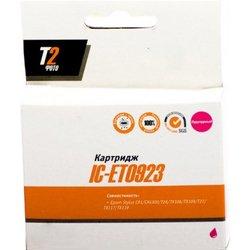 Картридж для Epson Stylus C91, CX4300, T26, TX106, TX109, T27, TX117, TX119 (T2 IC-ET0923) (пурпурный, с чипом) (13 мл) - Картридж для принтера, МФУ