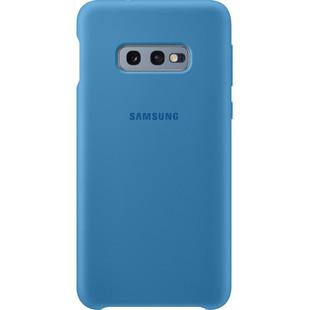 Чехол-накладка для Samsung Galaxy S10e (EF-PG970TLEGRU) (синий) - Чехол для телефонаЧехлы для мобильных телефонов<br>Чехол плотно облегает корпус и гарантирует надежную защиту от царапин и потертостей.