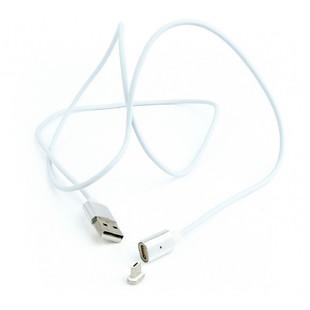 Кабель USB - microUSB ( Cablexpert CC-USB2-AMmUMM-1M) (белый) - Кабели Корткерос компьютерные аксессуары купить