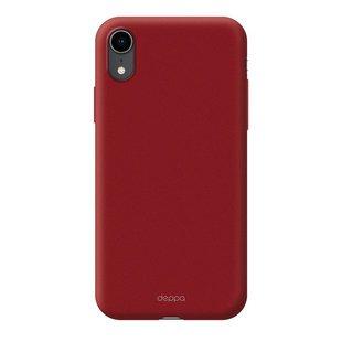 Чехол-накладка для Apple iPhone XR (Deppa 83371) (красный) - Чехол для телефонаЧехлы для мобильных телефонов<br>Чехол плотно облегает корпус и гарантирует надежную защиту от царапин и потертостей.