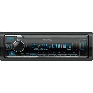 Kenwood KMM-BT305 - АвтомагнитолаАвтомагнитолы<br>Автомагнитола 1DIN, мощность 4x50Вт, фронтальный USB-порт, поддержка Bluetooth 3.0.