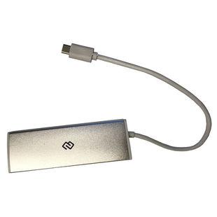 Digma HUB-4U3.0-UC-S - USB HUBUSB-концентраторы<br>Разъемы: USB 3.0 (4). Длина шнура 20 см. Световая индикция.