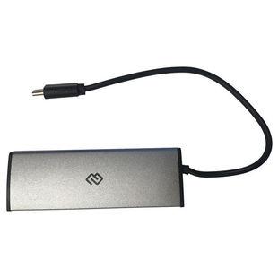 Digma HUB-4U2.0-UC-DS - USB HUBUSB-концентраторы<br>Разъемы: USB 2.0 (4). Длина шнура 20 см.