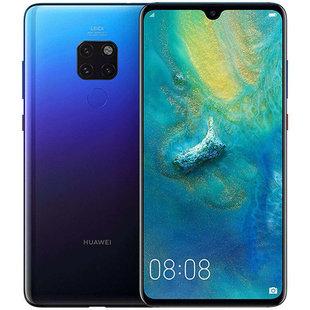 Huawei Mate 20 4/128GB (черно-синий) - Мобильный телефонМобильные телефоны<br>Смартфон Huawei Mate 20 4/128GB - GSM, LTE-A, смартфон, Android 9.0, вес 188 г, ШхВхТ 77.2x158.2x8.3 мм, экран 6.53quot;, 2244x1080, Bluetooth, NFC, Wi-Fi, GPS, ГЛОНАСС, фотокамера 12 МП, память 128 Гб, аккумулятор 4000 мА?ч