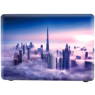 Чехол накладка для Apple MacBook Air 13 2018 (i-Blason Cover Burj Khalifa)