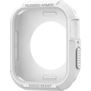 Чехол для Apple Watch 4 40mm (Spigen Rugged Armor 061CS24482) (белый) - Чехол для умных часов