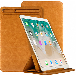 Чехол для Apple iPad Pro 12.9 2018 (Jisoncase Mircofiber Leather JS-PRO-41M20) (коричневый) - Чехол для планшетаЧехлы для планшетов<br>Jisoncase Mircofiber Leather JS-PRO-41M20 представляет собой стильный и функциональный чехол, являющийся отличным решением для защиты iPad Pro 12.9 2018 от повреждений и загрязнений. Он выполнен в форм-факторе конверта и имеет тонкий дизайн. Специальная конструкция чехла позволяет использовать его в качестве подставки, что очень удобно при просмотре мультимедийного контента, работы с текстом или серфинга в интернете.
