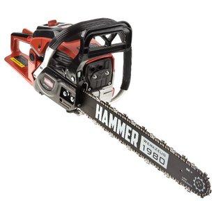 Цепная бензиновая пила Hammer BPL4518C - Цепная пилаЭлектро- и бензопилы цепные<br>Цепная бензиновая пила Hammer BPL4518C - бензопила, мощность: 2000 Вт 2.7 л. с., длина шины: 45 см, шаг цепи: 0.325 дюйма, вес: 6 кг
