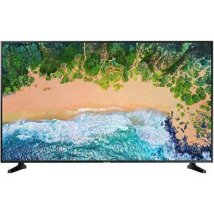 Samsung UE43NU7090UXRU (черный) - ТелевизорТелевизоры и плазменные панели<br>Диагональ: 43quot;; разрешение: 3840x2160; HDTV Ultra HD 4K (2160p); SMART TV; DVB-T2; DVB-С; DVB-S2.