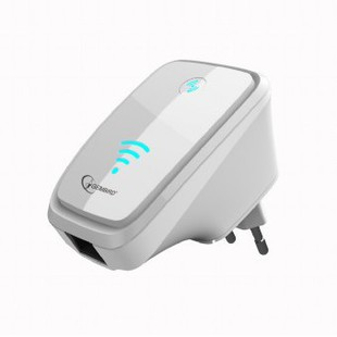 Gembird WNP-RP-004 (белый) - Усилитель, ретрансляторУсилитель WiFi, 3G, 4G сигнала, антенны<br>Усилитель Wi-Fi сигнала Gembird WNP-RP-004 300 Мбит, белый.