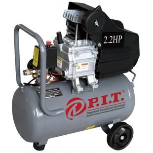 P.I.T PAC24-C - Воздушный компрессорВоздушные компрессоры<br>Компрессор, 1.5кВт, 220В, 2.2лс, 206 л/мин, 24л, 2 выхода, европереходник