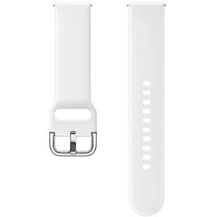 Ремешок для Samsung Galaxy Watch Active (белый) - Ремешок для умных часов