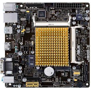 ASUS J1800I-C/CSM - Материнская платаМатеринские платы<br>Форм-фактор mini-ITX, чипсет Intel Celeron J1800, установлен процессор Intel Celeron J1800, до 2 планок памяти DDR3L SO-DIMM1333 МГц, встроенный видеоадаптер, слоты расширения: 1xPCI-E x1, разъемов SATA 3Gb/s: 2, на задней панели: 5xUSB, из них USB 3.0, COM, D-Sub, HDMI, Ethernet, PS/2 (клавиатура), PS/2 (мышь).