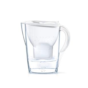Фильтр Brita MARELLA MX+ (белый) - Фильтр, умягчительФильтры и умягчители для воды<br>До 8 недель чистой, свежей и превосходной воды. Общий объем фильтр-кувшина: 2.4 л.