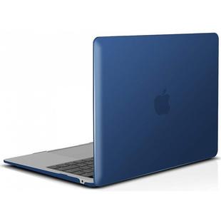 Чехол накладка для Apple MacBook Air 13 (2018) A1932 (i-Blason Cover Matte Navy) - Чехол для ноутбукаЧехлы для ноутбуков<br>i-Blason Cover представляет собой ультратонкий и прочный чехол-накладку для MacBook Air 13 A1932. Он состоит из верхней и нижней накладки. Аксессуар обеспечит отличную защиту ноутбука от загрязнений и механических повреждений при транспортировке.