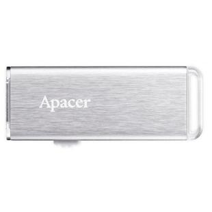Apacer AH33A 32GB (серебристый) - USB Flash driveUSB Flash drive<br>USB-накопитель, объем 32Гб, тип USB 2.0, выдвижной разъем, металлический корпус.