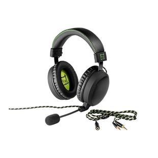 Harper Gaming Master GHS-X20 (черный) - Компьютерная гарнитураКомпьютерные гарнитуры<br>Игровая гарнитура с микрофоном, частота 20-20000 Гц, интерфейс 1x mini jack 3.5/2x mini jack 3.5, пульт с управлением громкости, пассивная шумоизоляция.