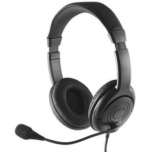 Perfeo 4TALK  - НаушникиНаушники и Bluetooth-гарнитуры<br>Регулируемое оголовье обеспечивает удобную посадку гарнитуры на голове. Поворотный держатель позволяет установить микрофон на оптимальном для качества звука и комфортном для пользователя расстоянии от лица. На кабеле гарнитуры расположен удобный регулятор громкости. Кабель длиной 1,2 м позволит использовать гарнитуру с смартфонами или планшетами, а переходник на 2 мини-джека позволит подключить гарнитуру к ПК или ноутбуку.