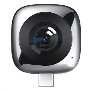Huawei 360 Panoramic Camera CV60 (серый) - Экшн-камераЭкшн-камеры<br>Панорамная камера Huawei 360 Panoramic Camera CV60 – верное решение, если вы любитель путешествовать или вам хочется просто снимать происходящее вокруг.