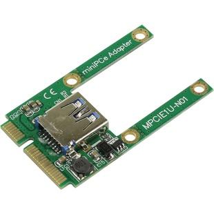 Eapada MEUU (42198) - КонтроллерКонтроллеры<br>Контроллер, интерфейс: mini PCI-E 52 pin male (папа), USB 3.0 9 pin type A female (мама).