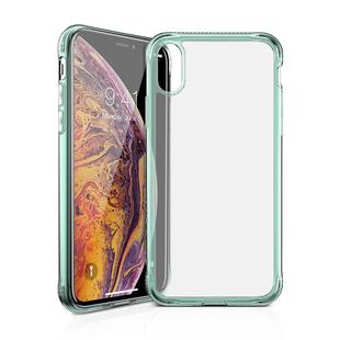 Чехол-накладка для Apple iPhone XS Max (ITSKINS APXP-ZEROI-TGTR) (мятный) - Чехол для телефонаЧехлы для мобильных телефонов<br>Чехол плотно облегает корпус и гарантирует надежную защиту от царапин и потертостей.