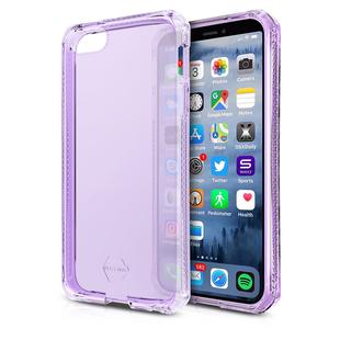 Чехол-накладка для Apple iPhone 5, 5s, SE (ITSKINS APSE-SPECM-LIPP) (сиреневый) - Чехол для телефонаЧехлы для мобильных телефонов<br>Чехол плотно облегает корпус и гарантирует надежную защиту от царапин и потертостей.