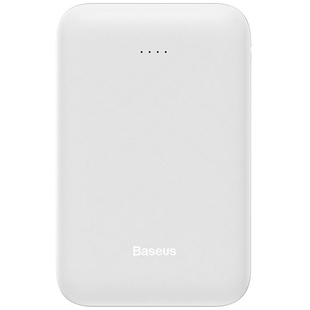 Baseus Mini Q PPALL-XQ02 10000mAh (белый) - Внешний аккумулятор