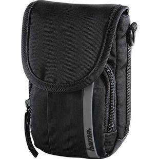Сумка для фотокамеры Hama Odessa 90 (черный, серый) - Чехол, сумка для фотоаппаратаСумки, чехлы для фото- и видеотехники<br>Назначение: фото/видеокамера, внутренний размер: 75 х 130 х 70 мм.