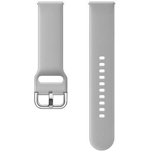 Ремешок для Samsung Galaxy Watch Active (серый) - Ремешок для умных часов