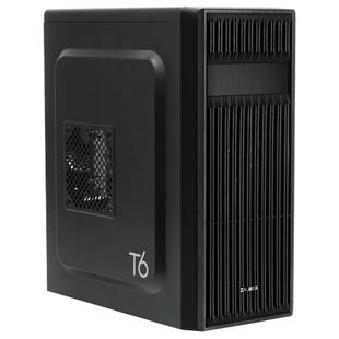 Zalman T6 Black - КорпусКорпуса<br>Компьютерный корпус Midi-Tower, без блока питания, форм-фактор ATX, mATX, Mini-ITX, спереди: USB x3, наушн., микр., материал: сталь.