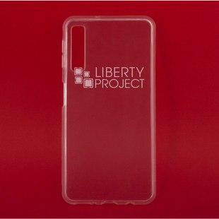 Чехол накладка для Samsung Galaxy A7 (2018) (0L-00040853) (прозрачный) - Чехол для телефонаЧехлы для мобильных телефонов<br>Предназначен для защиты мобильного телефона от негативного воздействия внешних факторов (пыль, грязь).