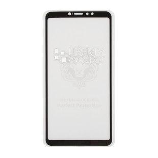 Защитное стекло для Xiaomi Mi Max 3 (0L-00042696) (черный) - ЗащитаЗащитные стекла и пленки для мобильных телефонов<br>2.5 D, с рамкой, ударопрочное, твёрдость 9Н, пылезащищённость, прозрачное, полноэкранное покрытие, водоустойчивое, защита от отпечатков пальцев и царапин, лёгкая установка, проклейка по всей площади.