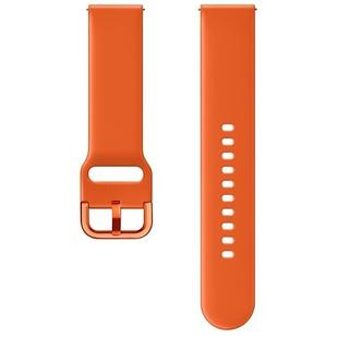 Ремешок для Samsung Galaxy Watch Active (ET-SFR50MOEGRU) (оранжевый) - Ремешок для умных часов