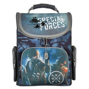 Ранец Silwerhof Military - Ранец, рюкзак, сумка, папкаРюкзаки и ранцы для школы<br>Для мальчиков, с 1 по 5 класс, материал — полиэстер.