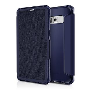 Чехол-книжка для Samsung Galaxy S8 Plus (ITSKINS SPECTRUM FOLIO SGP8-SPERA-JEAN) (темно-синий) - Чехол для телефона