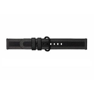 Ремешок для Samsung Galaxy Watch Active (Braloba Strap Studio Active Textile GP-XVR500BRABW) (черный) - Ремешок для умных часов